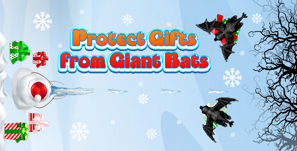 [Free Download] Protect Gifts from Giant Bats (CAPX and HTML5) Christmas Game (Nulled) [Latest Version]