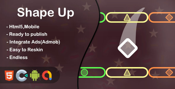 [Free Download] Shape Up(Html5 + Construct 3 +Mobile) (Nulled) [Latest Version]