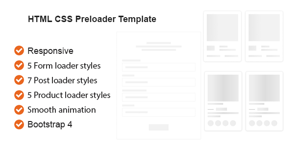 [Free Download] HTML CSS Preloader Animation Template (Nulled) [Latest Version]