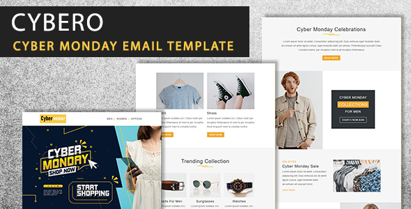 [Free Download] Cybero – Cyber Monday Email Newsletter Template (Nulled) [Latest Version]