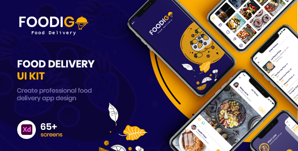 [Free Download] FOODIGO – XD Food Delivery UI Kit (Nulled) [Latest Version]