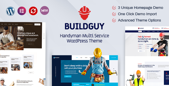 [Free Download] Buildguy – Handyman Services WordPress Theme (Nulled) [Latest Version]