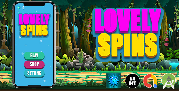 [Free Download] ​Lovely Spins Android Game (Nulled) [Latest Version]