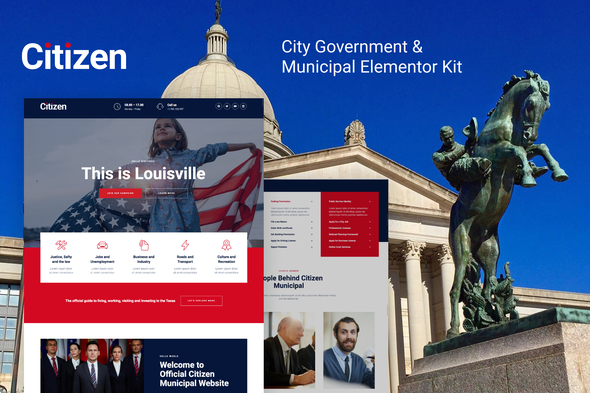 [Free Download] Citizen – City Government & Municipal Elementor Kit (Nulled) [Latest Version]