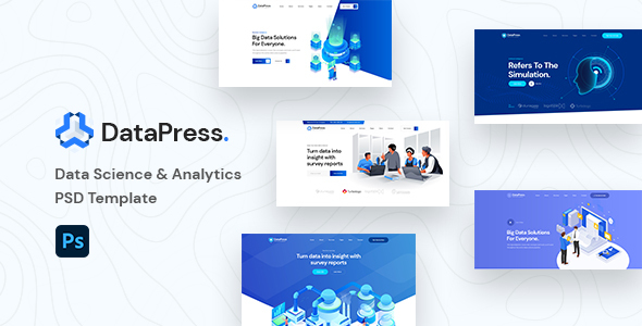 [Free Download] DatePress – Data Science & Analytics PSD Template (Nulled) [Latest Version]