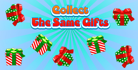 [Free Download] Collect The Same Gifts (CAPX and HTML5) Christmas Game (Nulled) [Latest Version]