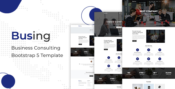[Free Download] Busing – Business Consulting Bootstrap 5 Template (Nulled) [Latest Version]