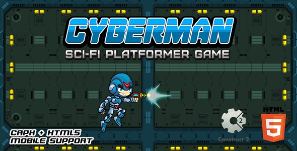 [Free Download] Cyberman – Html5 Game (Nulled) [Latest Version]