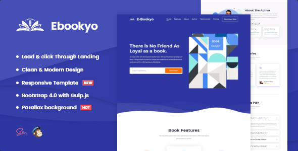 [Free Download] Ebookyo – Ebook HTMLLanding Page Template (Nulled) [Latest Version]