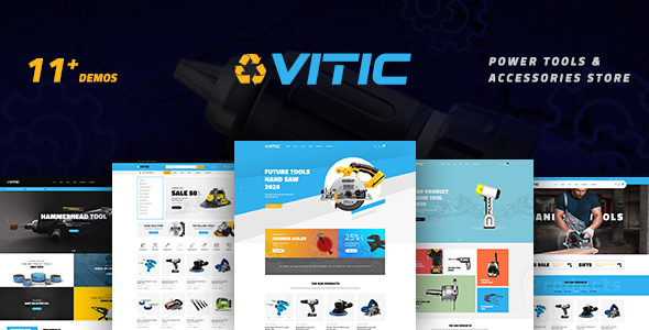 [Free Download] Vitic – Tools WooCommerce WordPress Theme (Nulled) [Latest Version]