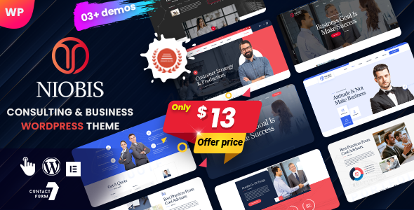 [Free Download] NioBis – Business Consulting WordPress Theme (Nulled) [Latest Version]