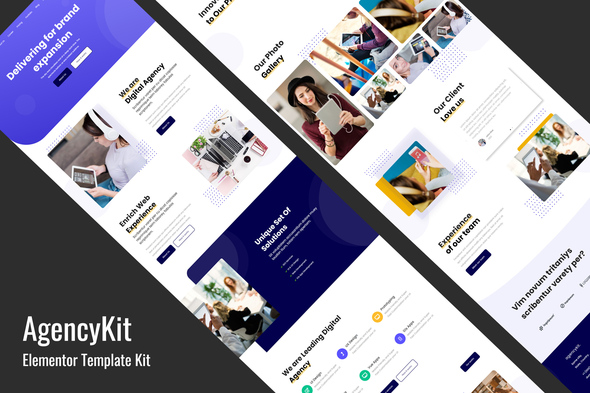 [Free Download] AgencyKit – Portfolio Elementor Template Kit (Nulled) [Latest Version]