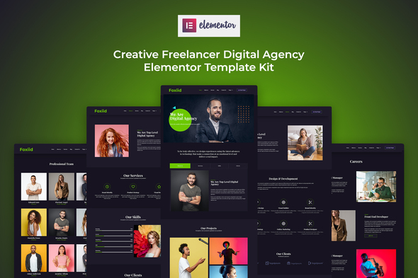 [Free Download] Foxiid – Creative Freelancer Elementor Template Kit (Nulled) [Latest Version]