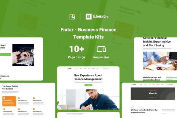 [Free Download] Fintar – Finance Management Elementor Template Kit (Nulled) [Latest Version]