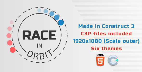 [Free Download] Race in orbit – HTML5 Skill game (Nulled) [Latest Version]
