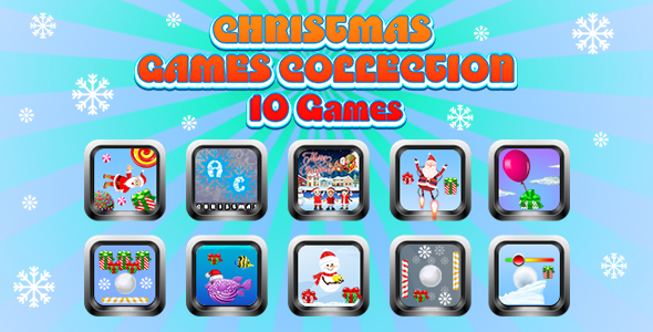 [Free Download] Game Collection 11 (CAPX and HTML5) 10 Games for Christmas (Nulled) [Latest Version]