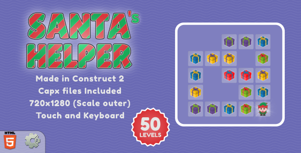 [Free Download] Santa's Helper – HTML5 Casual game (Nulled) [Latest Version]