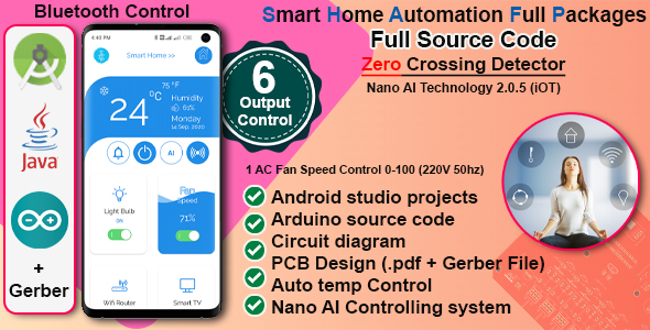 [Free Download] Complete Home Automation Android App & Circuit + Gerber (Nulled) [Latest Version]