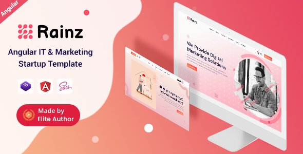 [Free Download] Rainz – Angular IT & Marketing Startup Template (Nulled) [Latest Version]