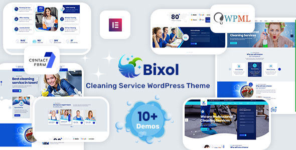 [Free Download] Bixol – Cleaning Services WordPress (Nulled) [Latest Version]