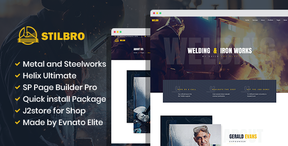[Free Download] Stilbro – Metal and Steelworks Company Joomla Template (Nulled) [Latest Version]