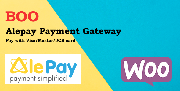 [Free Download] BOO Alepay Gateway Credit Card (Nulled) [Latest Version]