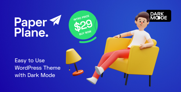 [Free Download] Paper Plane – Easy to Use WordPress Blog Theme (Nulled) [Latest Version]