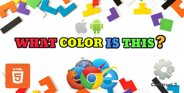 [Free Download] What Color Is This? for kids – Educational Game – HTML5 (.Capx) (Nulled) [Latest Version]