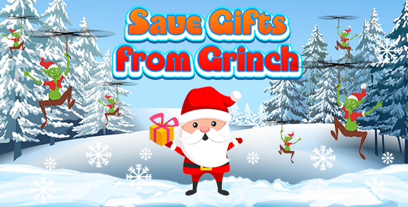 [Free Download] Save Gifts from Grinch (CAPX and HTML5) Christmas Game (Nulled) [Latest Version]