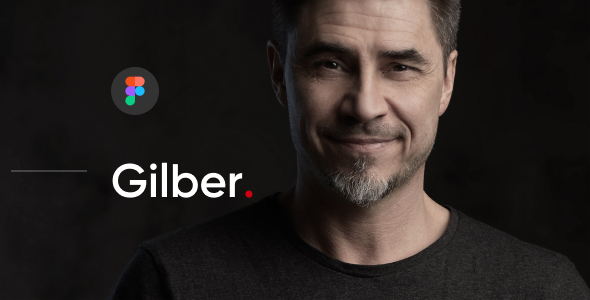 [Free Download] Gilber – Personal CV/Resume Figma Template (Nulled) [Latest Version]