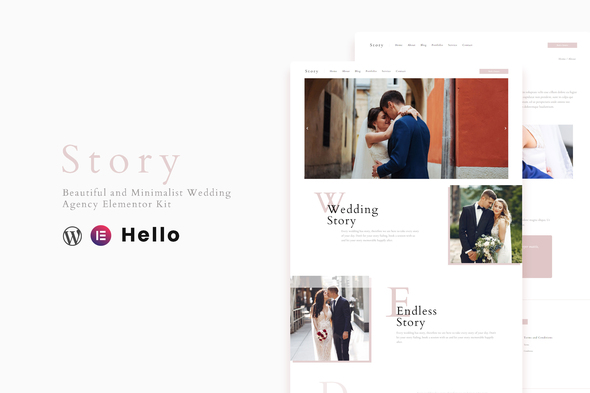 [Free Download] Story – Wedding Elementor Template Kit (Nulled) [Latest Version]
