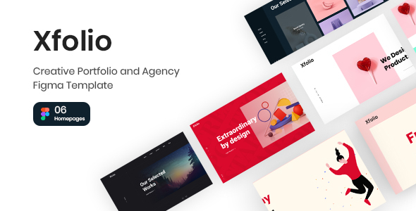 [Free Download] Xfolio – Creative Portfolio and Agency Figma Template (Nulled) [Latest Version]