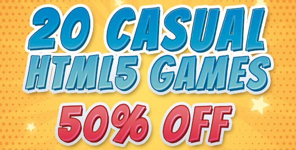[Free Download] 20 CASUAL GAMES – SUPER BUNDLE HTML5 GAMES (Construct 2) (Nulled) [Latest Version]