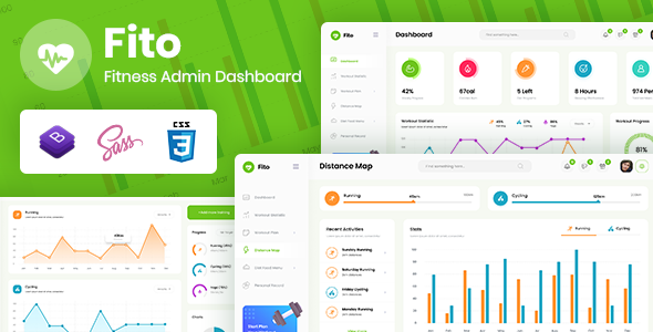 [Free Download] Fito – Fitness Admin Dashboard Template (Nulled) [Latest Version]