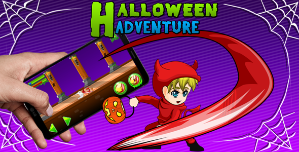 [Free Download] Halloween Adventure – Complete 10 Levels (Nulled) [Latest Version]
