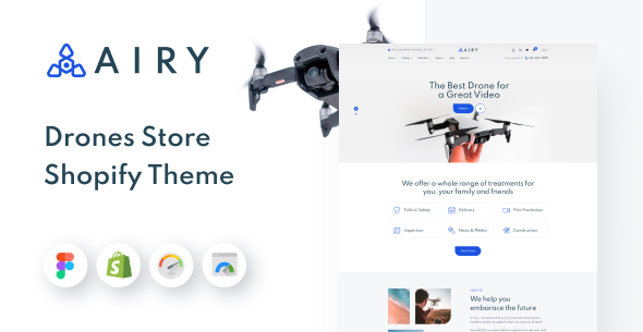 [Free Download] Airy – Drones Store Shopify Theme (Nulled) [Latest Version]