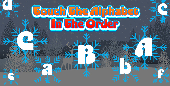 [Free Download] Touch The Alphabet In The Order (CAPX and HTML5) Christmas Game (Nulled) [Latest Version]