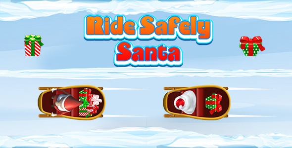 [Free Download] Ride Safely Santa (CAPX and HTML5) Christmas Game (Nulled) [Latest Version]