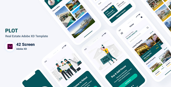 [Free Download] Plot – Real Estate Adobe XD Template (Nulled) [Latest Version]