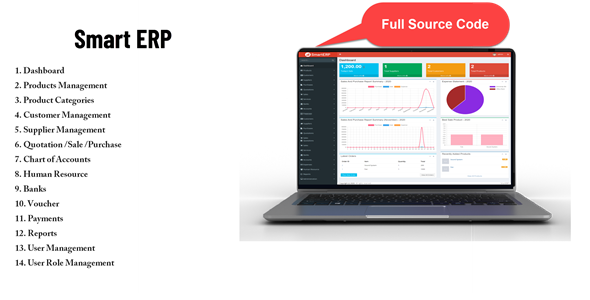 [Free Download] SmartERP – Business ERP Solution / Product / Shop / Company Management (Nulled) [Latest Version]