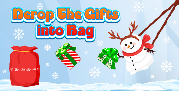 [Free Download] Drop The Gifts into Bag (CAPX and HTML5) Christmas Game (Nulled) [Latest Version]