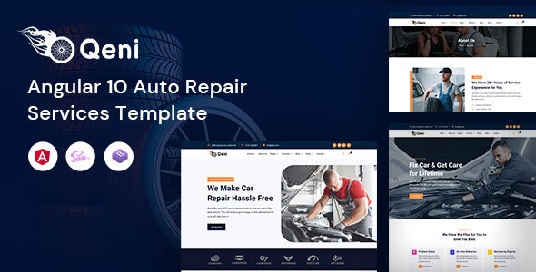 [Free Download] Qeni – Angular Auto Repair Services Template (Nulled) [Latest Version]