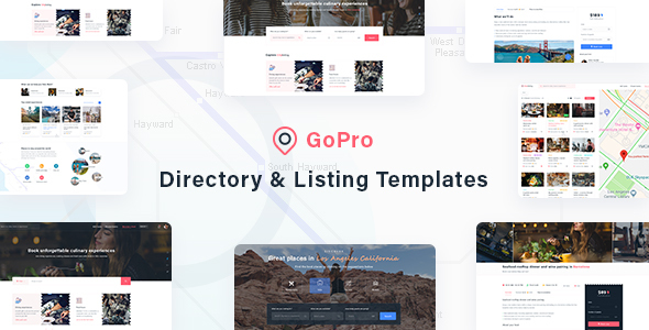 [Free Download] GoPro – Directory & Listing Templates (Nulled) [Latest Version]