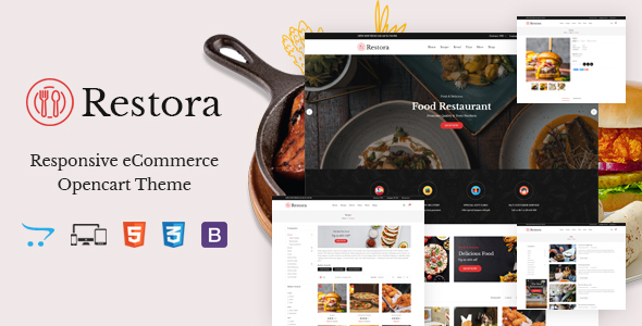 [Free Download] Restora – Responsive OpenCart Theme (Nulled) [Latest Version]