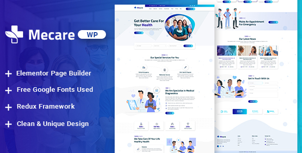[Free Download] Mecare – Hospital and Health WordPress Theme (Nulled) [Latest Version]