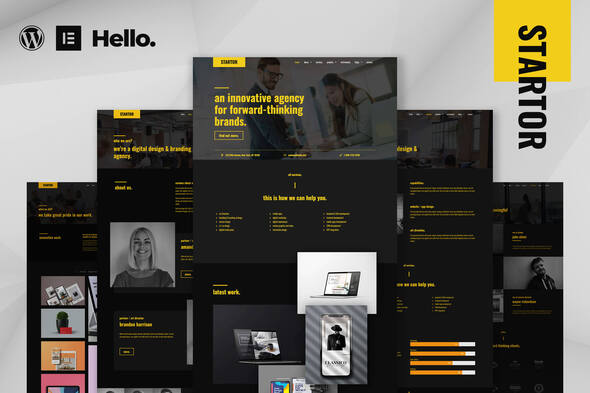 [Free Download] STARTOR – Agency & Company Elementor Template Kit (Nulled) [Latest Version]