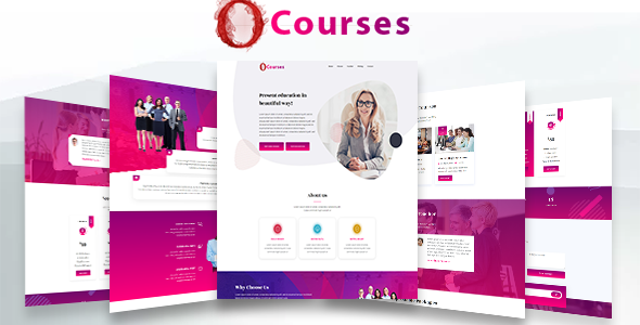 [Free Download] Online Courses – Html Landing Page (Nulled) [Latest Version]