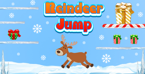 [Free Download] Reindeer Jump and Collect The Gifts (CAPX and HTML5) Christmas Game (Nulled) [Latest Version]