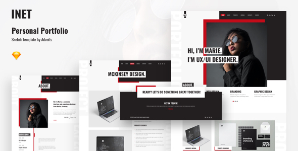 [Free Download] Inet – Personal Portfolio Sketch Template (Nulled) [Latest Version]