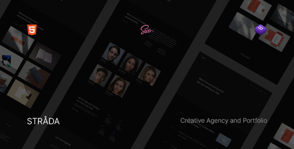 [Free Download] Strada ― Creative Agency and Portfolio Bootstrap Template (Nulled) [Latest Version]